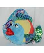GANZ Brand Webkins Collection HM438 Rainbow Colored Plush Pucker Fish - $112.99