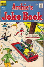 Archie's Joke Book Comic Book #123 Archie Comics 1968 VERY GOOD - $3.99