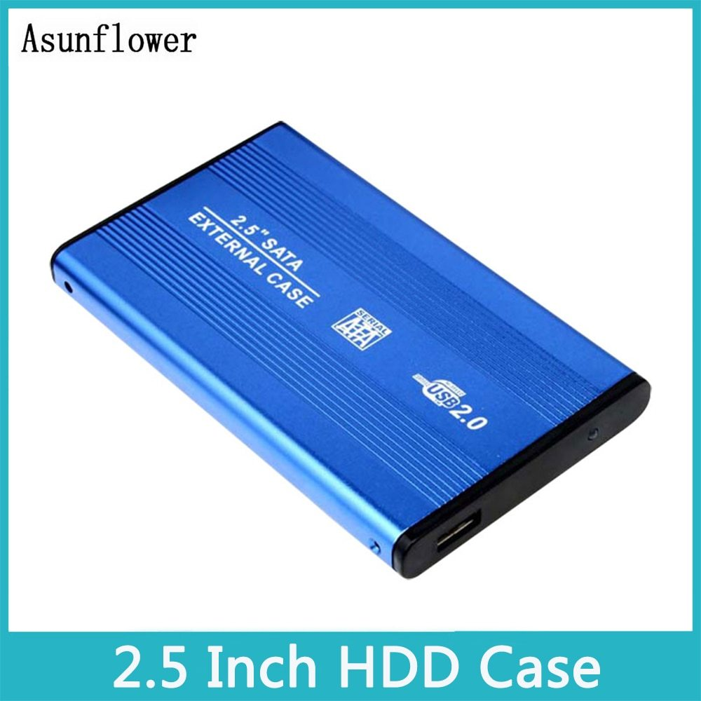 2 5 inch hdd case sata to usb 2 0 adapter ssd hd hard drive disk
