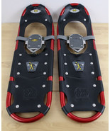 "Atlas Snow Shoes Model 825  Red 25"" PARTS or REPAIR No Bindings  - $49.49"
