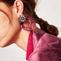 Lady Brand Bohemian Wedding Tassel Dangle Earrings Jewelry Fashion Women... - $9.84