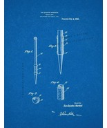 Pencil Grip Patent Print - Blueprint - $7.95+