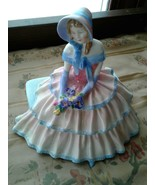 Royal Doulton Figurine DAY DREAMS HN 1731 Excellent Condition OLD GREEN ... - $44.50