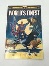 World's Finest No. 3 Comic Book DC Worlds At War Superman Batman VG - $13.71