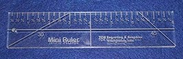 """8"""" Mini Ruler --Template 3/8""""- Clear Acrylic - Quilting/sewing - $31.99"""