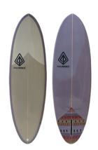 "Paragon Retro Egg 6'6"" EggPlant Surfboard - $400.00"