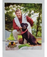 KARE 11 Ron Schara's Black Lab Raven 8x10 autographed signed photo FISHE... - $14.85