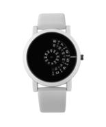 Women Men Watch Stylish Leather Strap Modern Quartz Watches Turntable #W... - $19.39
