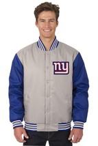 New York Giants Poly Twill NFL Jacket - $99.98