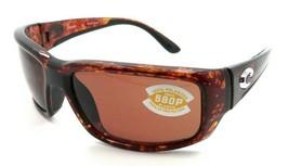 Costa Del Mar Sunglasses Fantail 59-14-127 Tortoise / Copper 580P - $196.00