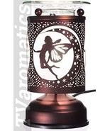 TVaromatics Copper Metal Lite-Touch Electric Aroma Lamp Oil and Wax Tart... - $20.86