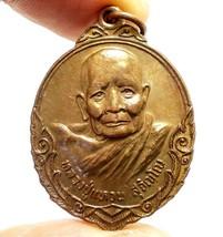 LP WAN SUJINNO BIRTH ORIGIN COIN LUCKY SUCCESS THAI BUDDHA AMULET GARUDA... - $118.79