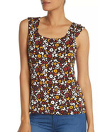 14th & Union Women's Knit Tank Top Scoop Neck Sleeveless Floral Size Med... - $11.30