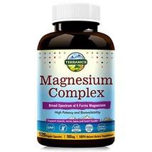 Terranics Magnesium Complex, Broad-Spectrum, 500mg, 120 Veggie Capsules, Chelate