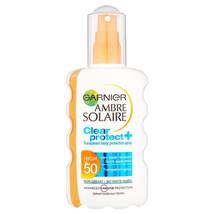Garnier Ambre Solaire Sensitive SPF50 Sun Cream Spray 200ml - $23.82