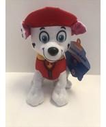 "Nanco Nickelodeon Paw Patrol Puppy Dog 8"" Marshall Dalmatian Stuffed Plu... - $9.99"