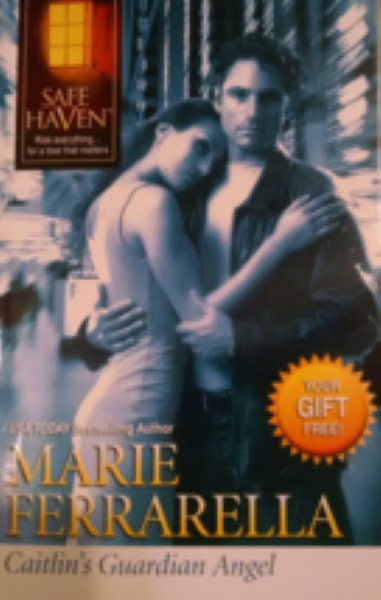 Caitlin's Guardian Angel Safe Haven Series Book by AAlarie Ferrarella
