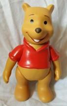 """Vintage Walt Disney Winnie the Pooh  5"""" Plastic Poseable Figure - $6.79"""