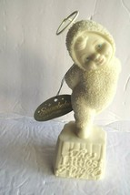 "Dept.56 Snowbabies ""The Littlest Angel"" Bisque Porcelain Figurine w/tag - $5.99"