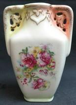 Vintage Austria porcelain rose décor vase - $40.00
