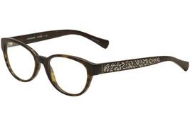 Authentic Coach Frame 51-17-135 New Dark Tortoise Eyeglasses HC 6069 5120 - $59.39