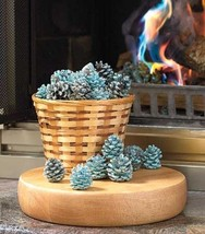 Rainbow Flame Coloring Pine Cones Watch Turn Flames Blue Green Color Rai... - $69.28