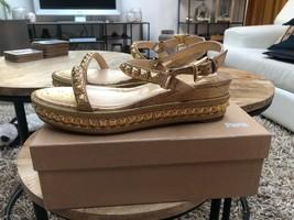 Christian Louboutin Beige Pyradiams 60MM Sandals New - $849.00