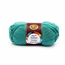Lion Brand 27/7 Cotton - Jade - 100% Mercerized Cotton - $4.99