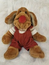 "Vintage Ganz 16"" Wrinkles Puppet Puppy - imperfections on shirt see pics... - $9.63"