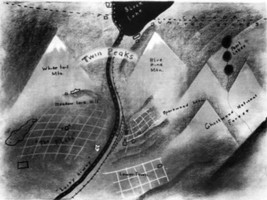 Twin Peaks TV show Map, by David Lynch, Very Detailed - $29.69