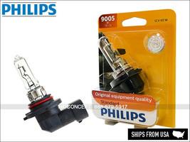 9005 HB3 9005B1 Original PHILIPS Standard Halogen Bulb 65W OEM   Pack of 1 - $11.47