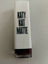 New CoverGirl Katy Perry Kat Matte Lipstick Maroon Meow Cover Girl - $13.09