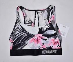 VICTORIA'S SECRET Sport Floral Sports Bra Small S NEW Active Gym Yoga VS... - $23.20