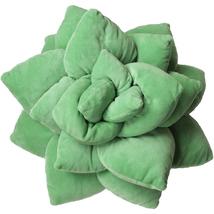 3D Succulent Pillow - Indoor Terrarium and Nursery Decor - Sage Green - $36.00