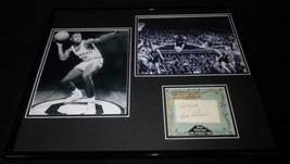 Big O Oscar Robertson Signed Framed 16x20 Photo Set JSA Bucks - £107.15 GBP