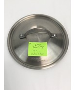 Simply Calphalon Stainless Steel Pot Pan Lid 6 5/8 Inch Inner Ledge 7 In... - $29.39