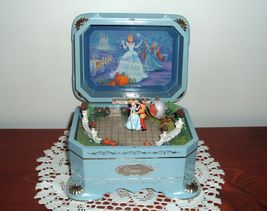 Disney Cinderella Dance Ever After Limited Edition Music Box First Issue image 2