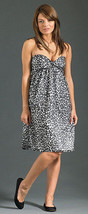 $240 NEW JOIE Broken Pieces Animal Print Strapless Sun Dress Size medium M - $49.45