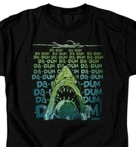 Jaws Movie Retro 70s 80s Amity Island Da-Dum Brody graphic t-shirt UNI1093B image 2