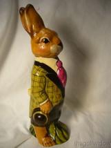 Vaillancourt Folk Art Wonderful Derby Rabbit for Easter no. 21002 image 2