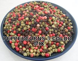 Unusual Rainbow Peppercorns 3 Color Mixed 2 Oz - 32 Oz Resealable Bag - $8.19+