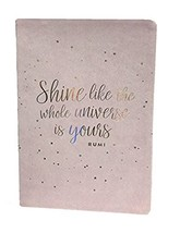 Eccolo 5 x 8 Inches Style Journal in Faux Leather (Shine Pink) - $13.86