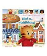 NEW 2014 Daniel Tiger's Neighborhood Meet the Neighbors Hardcover Board ... - $12.86