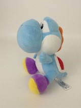 "Nintendo Super Mario Brothers Wii 7"" Blue Yoshi Plush Stuffed Toy Dinosa... - $16.88"