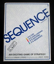 New Unused Jax Sequence Strategy Board Game 8002 English & Spanish Instr... - $14.84