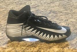 NIKE Alpha Menace Shark Mens Size 10 Football Cleats Black Gray 880137-001 #nike - $38.49