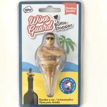 NEW Wine Guard Bottle Stopper Lifeguard Bottle Stopper Drinking Buddies ... - $9.95