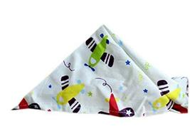 PANDA SUPERSTORE 2 Pieces Fashionable Cute Pets Triangle Scarves/Headscarf, Airc