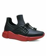 Henry Ferrera, Black & Red Luna Rain Sneaker - $28.00