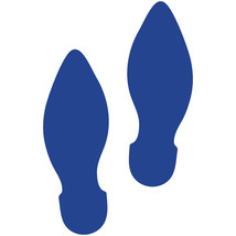 LiteMark Blue Removable Elf Footprint Decal Stickers - Pack of 12 - $19.95